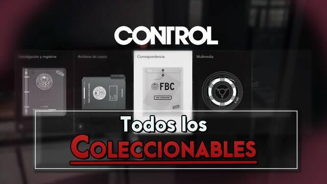 Control: TODOS los Coleccionables y cómo conseguirlos