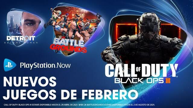 Juegos de PS Now de febrero de 2021.