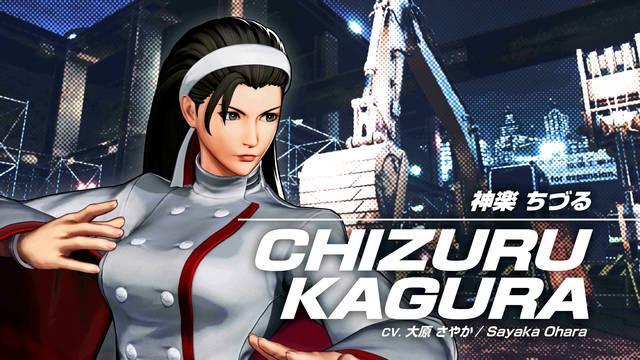 Chizuru Kagura en King of Fighters 15
