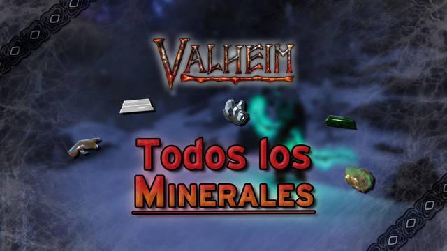 Valheim: TODOS los minerales y metales y cómo conseguirlos