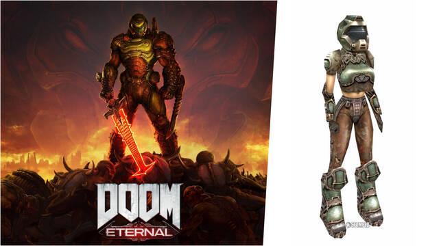 Doom Eternal protagonista mujer