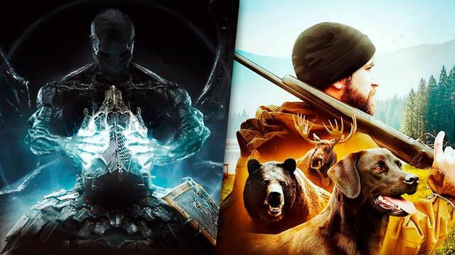 PS5 versiones Mortal Shell y Hunting Simulator 2