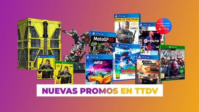 Ofertas en juegos de Bandai Namco y Electronic Arts en TTDV.