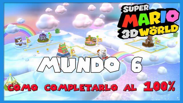 Mundo 6 en Super Mario 3D World al 100%
