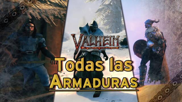 Valheim: TODOS los conjuntos de armaduras, cómo fabricarlos y atributos