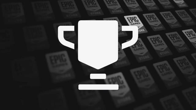 Epic Games Store con trofeos y logros