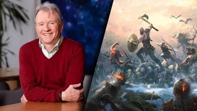 Jim Ryan, jefe de PlayStation, evita mencionar God of War: Ragnarok al hablar de los juegos que saldrán en 2021.