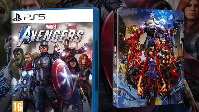Steelbook exclusivo al comprar Marvel's Avengers en GAME.