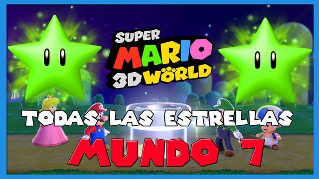 Super Mario 3D World: TODAS las estrellas del Mundo 7