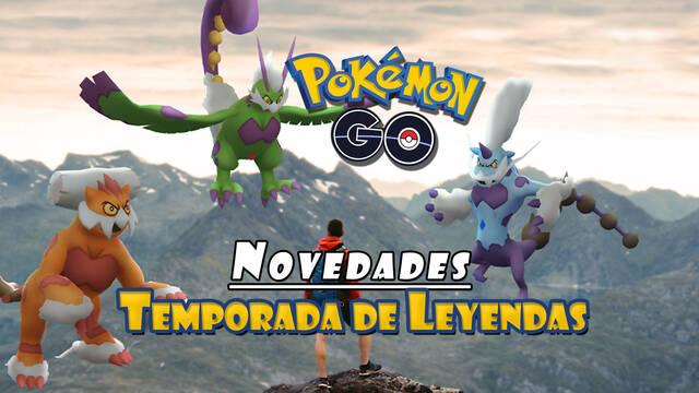 Pokémon GO presenta la Temporada de Leyendas: fechas, nuevos Legendarios y más