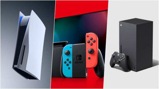 Switch PS5 Xbox Series consumo energético