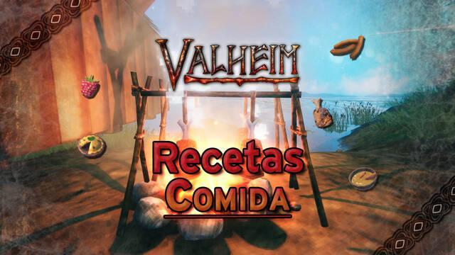 Valheim: TODOS los alimentos y recetas de comida para preparar