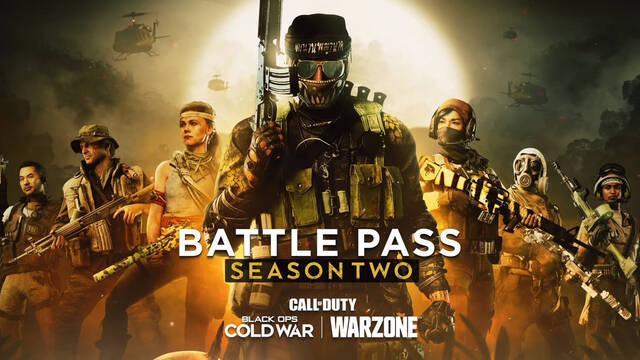 COD Black Ops Cold War y Warzone - Temporada 2: recompensas del pase de batalla