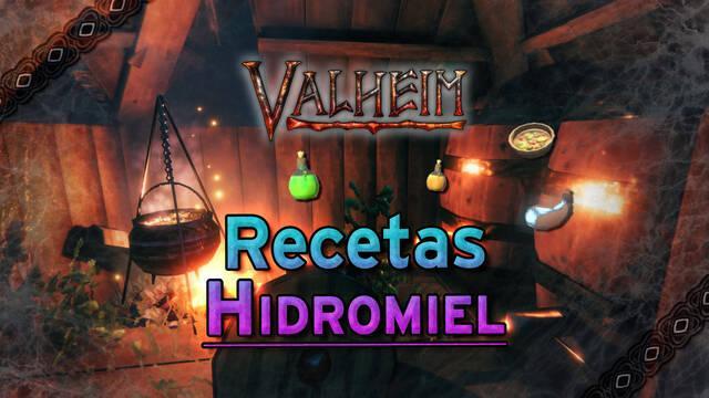 Valheim: TODAS las pociones de hidromiel y cómo crear el Fermentador
