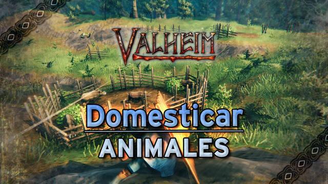 Valheim: Cómo domesticar y criar animales (jabalíes, lobos y Lox)