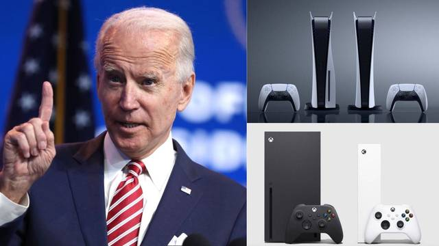 Semiconductores falta suministro PS5 Xbox Series Biden
