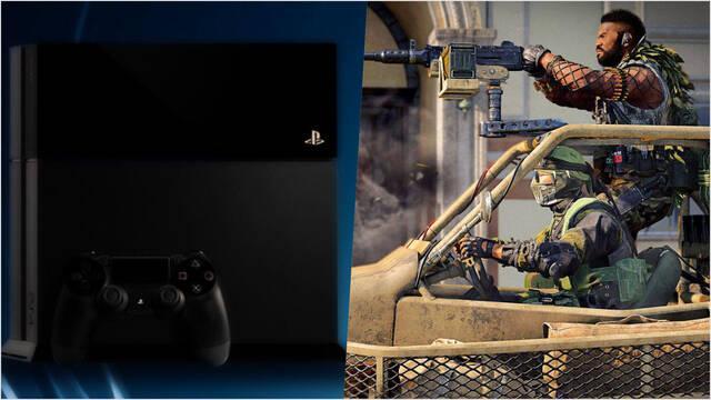 Call of Duty Warzone parche PS4 500 GB eliminar espacio