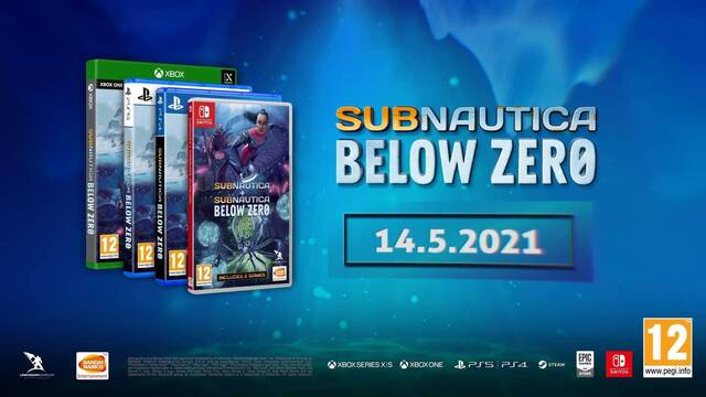 Subnautica: Below Zero saldrá en mayo para PS5, Xbox Series X/S, PS4, Xbox One, Switch y PC.