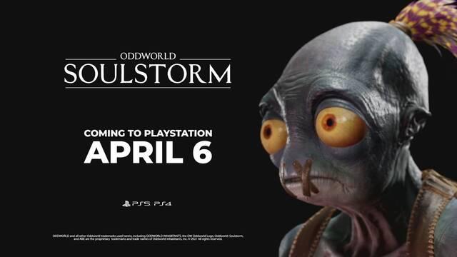 Oddworld: Soulstorm en PS Plus de abril