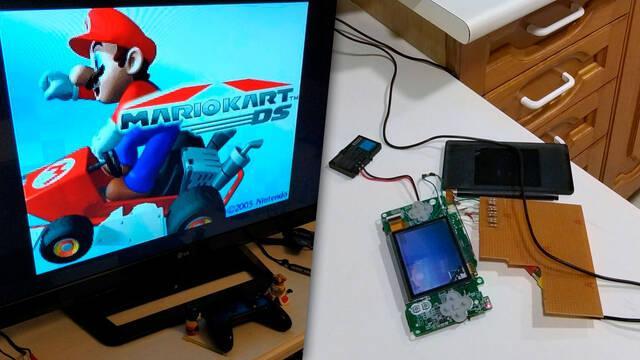 Nintendo DS Lite posibilidad de conectar a televisión