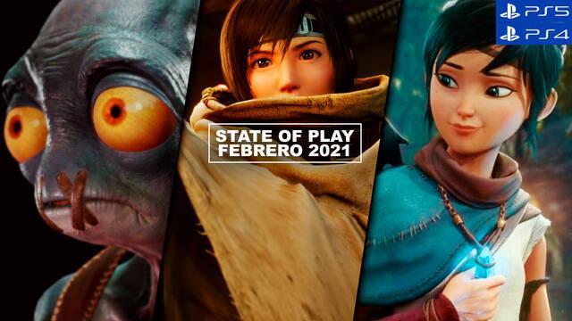 Resumen State of Play febrero 2021