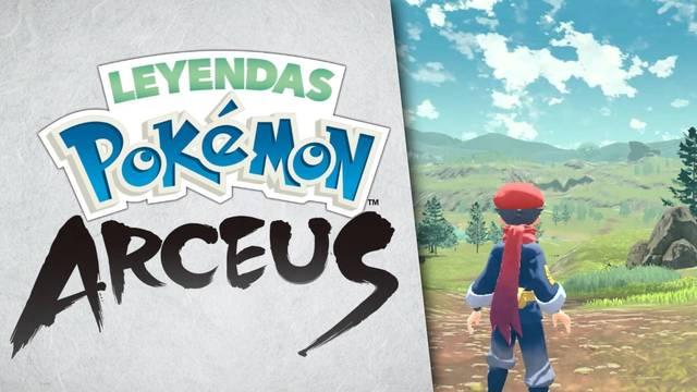 Anunciado oficialmente Leyendas Pokémon Arceus para Switch.