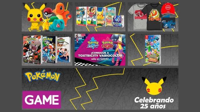 GAME celebra el 25 aniversario de Pokémon.