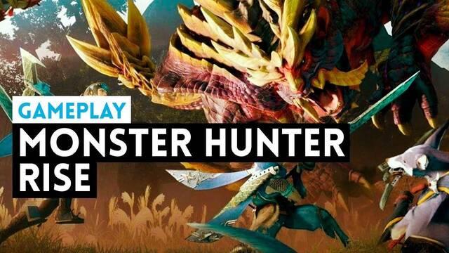 Monster Hunter Rise y su jugabilidad