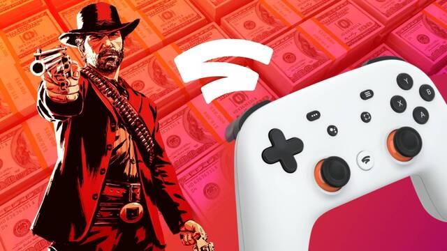 Stadia gastó millones de dólares para recibir ports de grandes juegos.