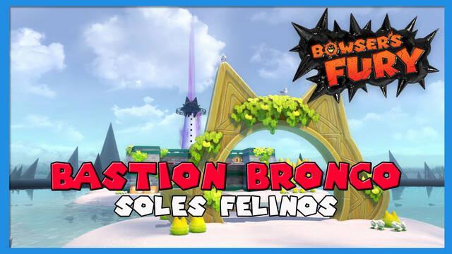 TODOS los Soles felinos de Ruinas Saltarinas en Bowser's Fury
