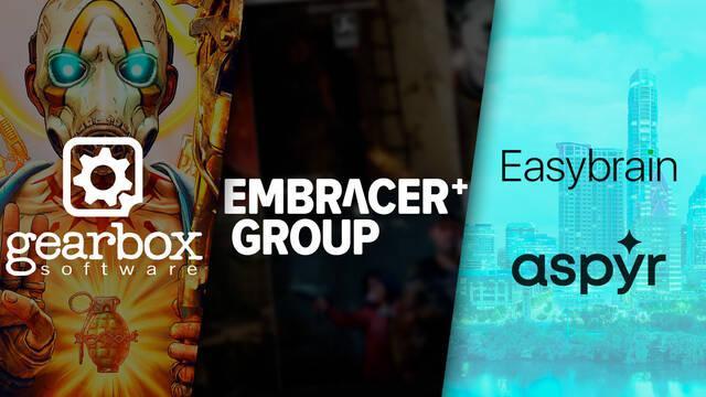 Embracer Group compra Gearbox software, Easybrain y Aspyr Media