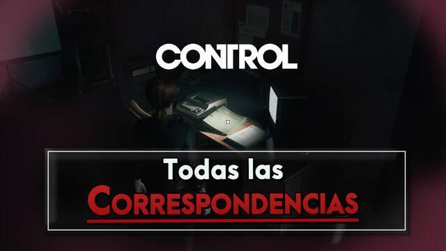 Control: TODA la Correspondencia (cartas) - Localización