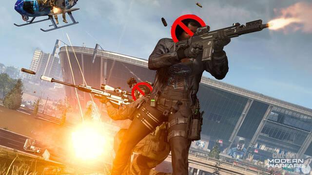 Expulsiones en Call of Duty: Warzone