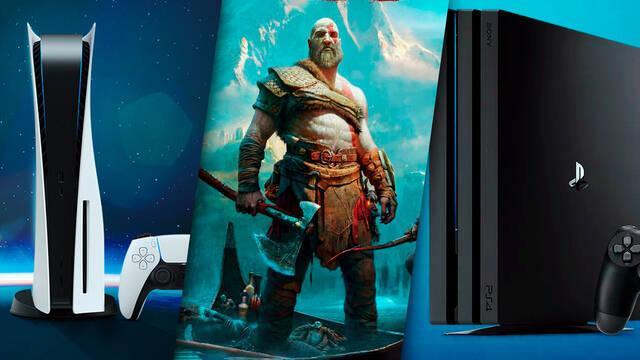 God of War comparación PS5, PS4 y PS4 Pro con parche