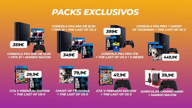 TTDV y sus nuevas ofertas de packs