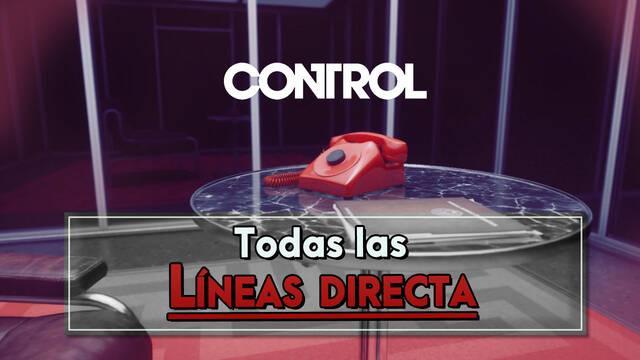 Control: Todos los coleccionables de Línea directa - Localización