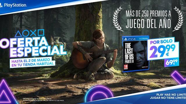 The Last of Us Parte 2 nuevo precio 29,99 euros