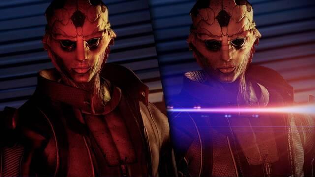 Comparativa gráfica de Mass Effect Legendary Edition con la trilogía original.