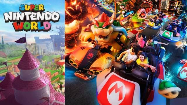 Super Nintendo World vídeos