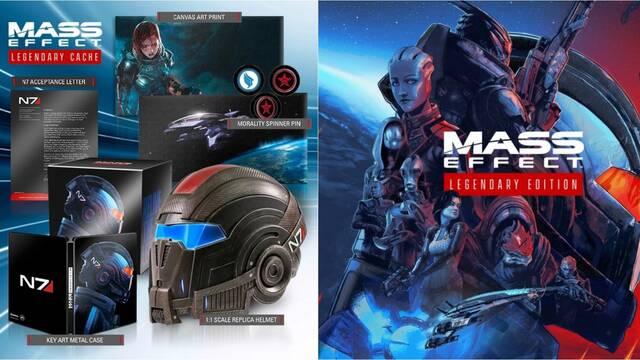 Mass Effect: Legendary Edition y su edición Coleccionista