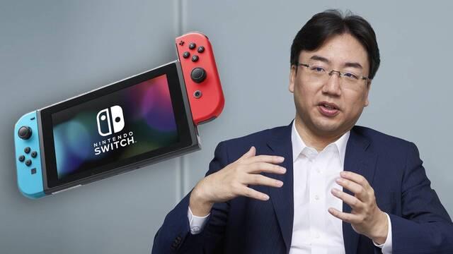 """No habrá anuncios de nuevos juegos de Switch hasta que no sea """"el momento""""."""