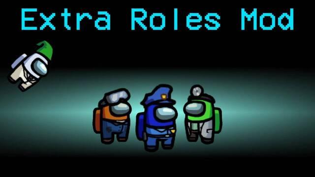 Nuevos roles para Among Us gracias a un mod.