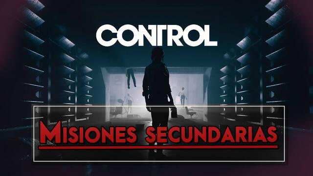 Control: TODAS las misiones secundarias, cómo activarlas y completarlas