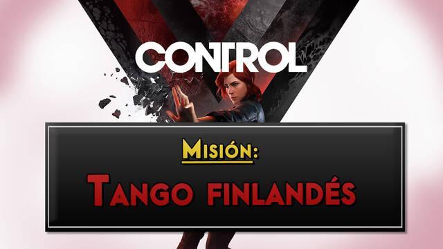Tango finlandés en Control al 100% y coleccionables