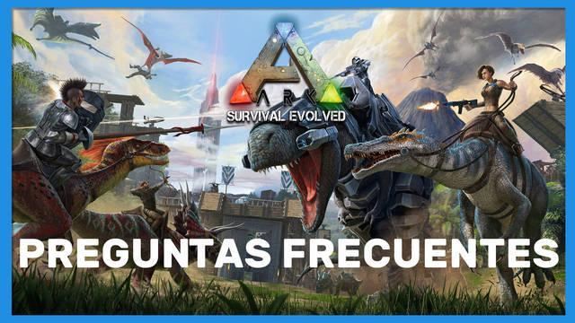 Preguntas frecuentes en Ark: Survival Evolved
