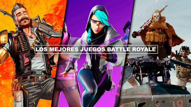 Los MEJORES juegos Battle Royale para PC, PS4, PS5, Xbox Series, Xbox One, móviles...