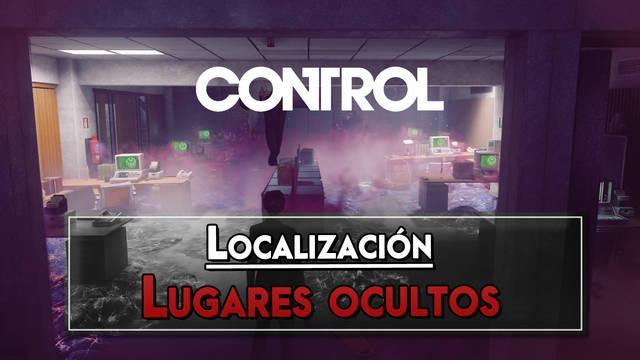 Control: TODOS los Lugares ocultos y dónde encontrarlos - Localización