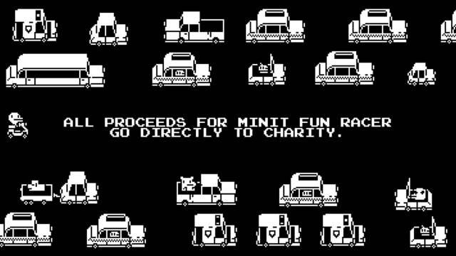 Minit Fun Racer a la venta en PC y sus ingresos son para causas benéficas