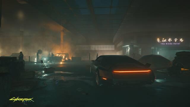 Cyberpunk 2077 nos muestra los barrios bajos de Night City en una nueva imagen