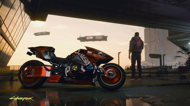 Cyberpunk 2077: Así será la moto con la que podremos recorrer la ciudad del juego